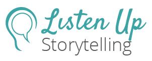 Listen Up Storytelling Logo